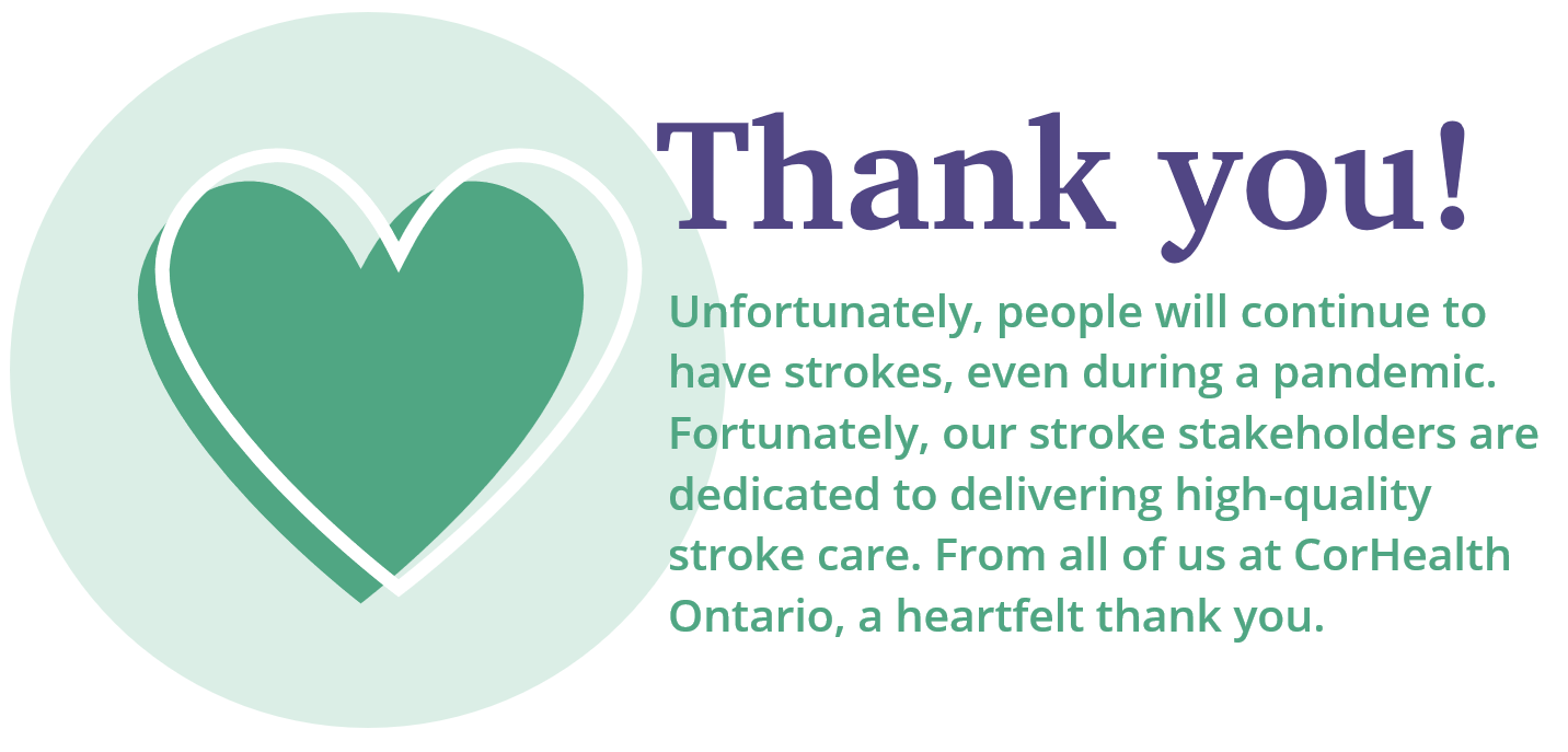 Stroke Awareness Month Thank You Message